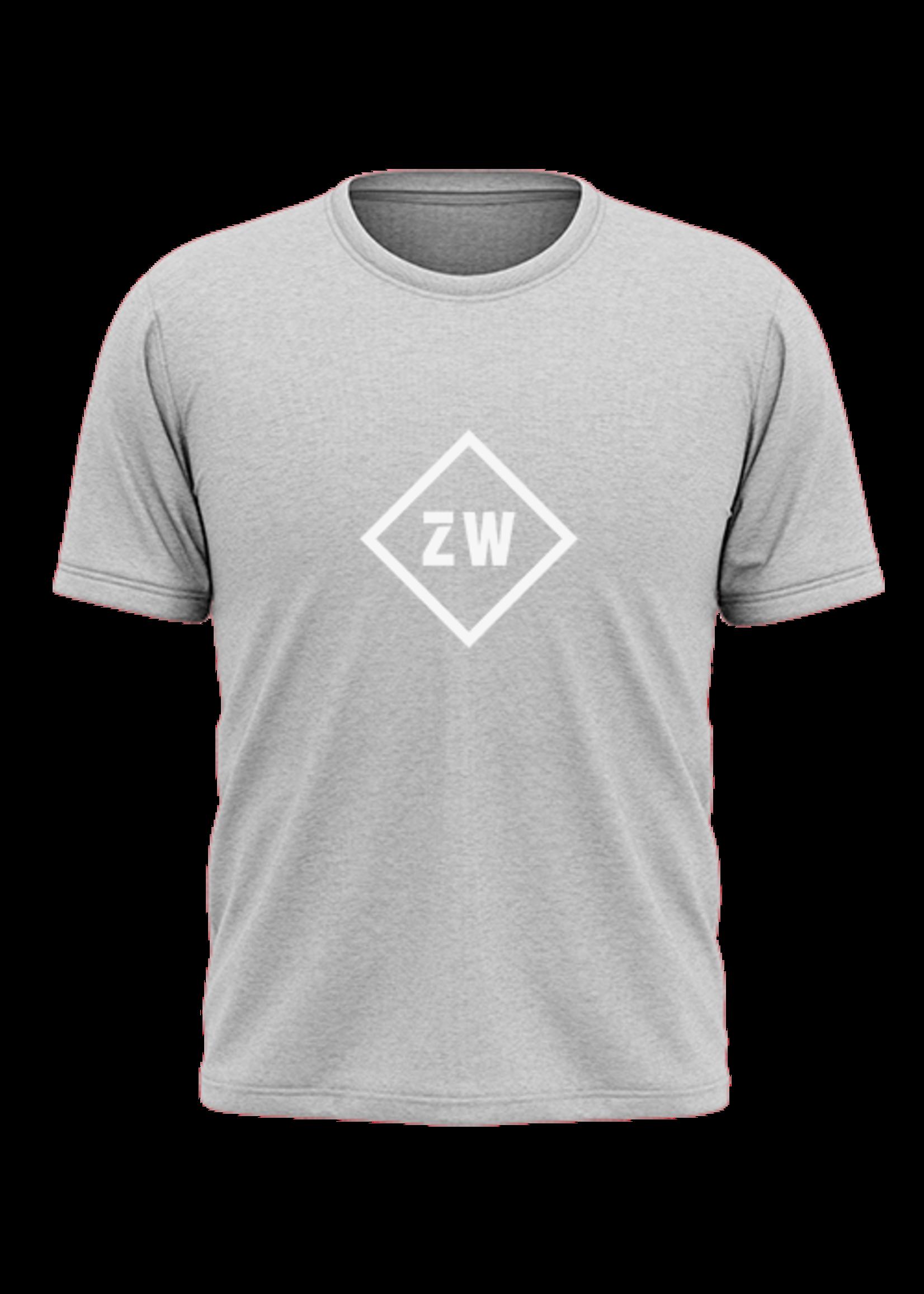 Rebel & Dutch ZwartWit T-shirt grijs wit