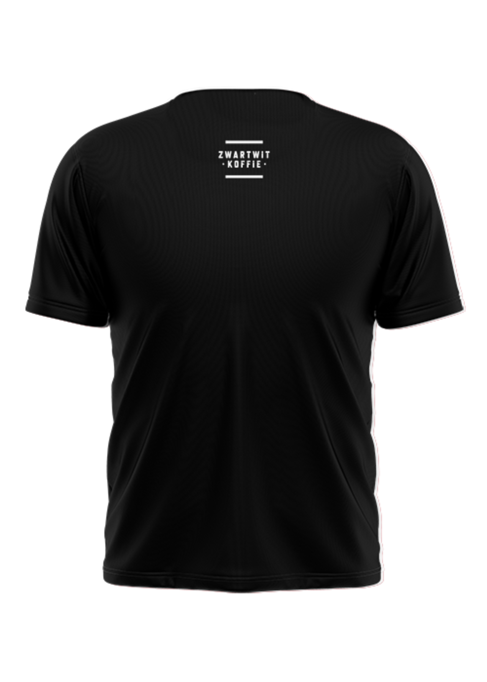 Rebel & Dutch ZwartWit T-shirt roze wit