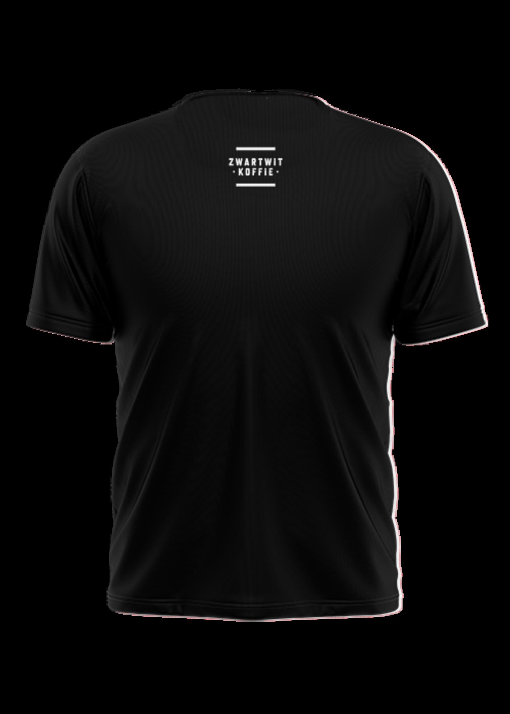 Rebel & Dutch ZwartWit T-shirt rood wit