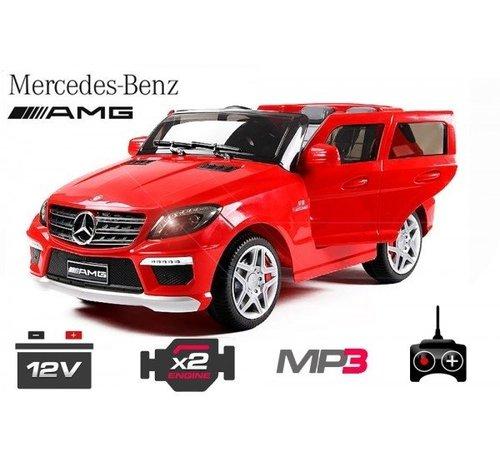 Mercedes-Benz Mercedes ML63 AMG kinderauto met Mp3 en afstandsbediening!