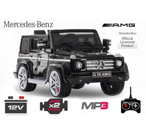 Mercedes-Benz Mercedes G55 AMG elektrische kinderauto met mp3-aansluiting!