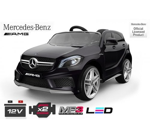 Mercedes-Benz Mercedes A45 Elektrische kinderauto met Mp3