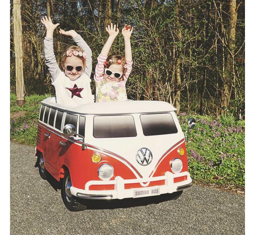Volkswagen Samba Bus elektrische kinderauto 12V
