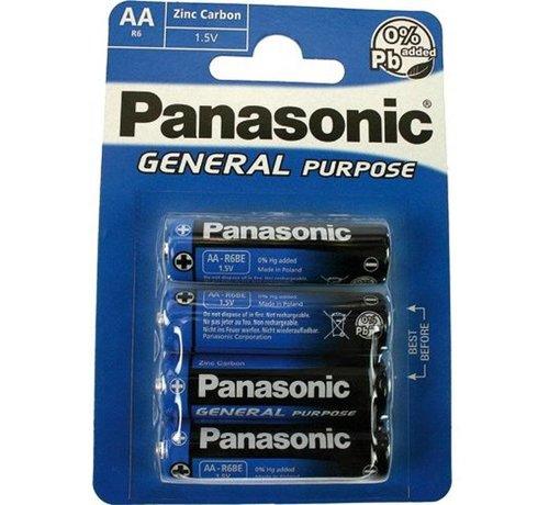 Set AA Batterijen Panasonic