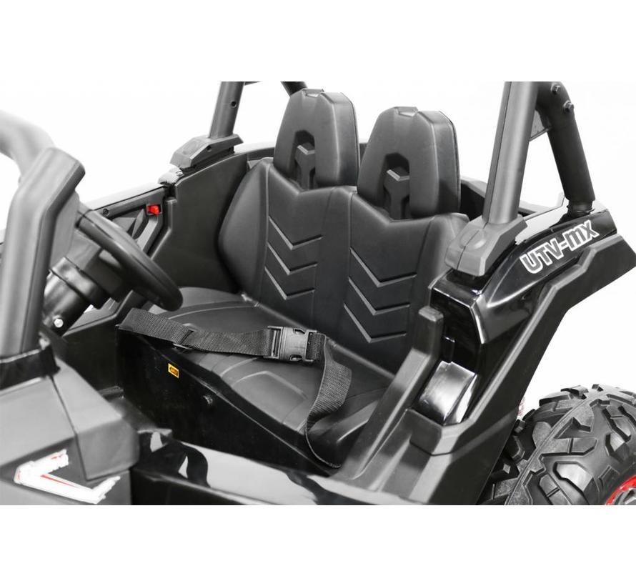 UNIEK - Golf Cart 2 persoons kinderauto met 4 motoren en 2 accu's