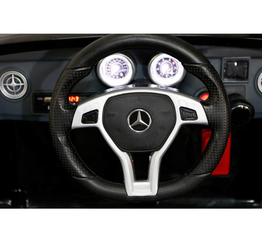 Mercedes SL63 AMG 12V accu kinderauto met RC en Mp3