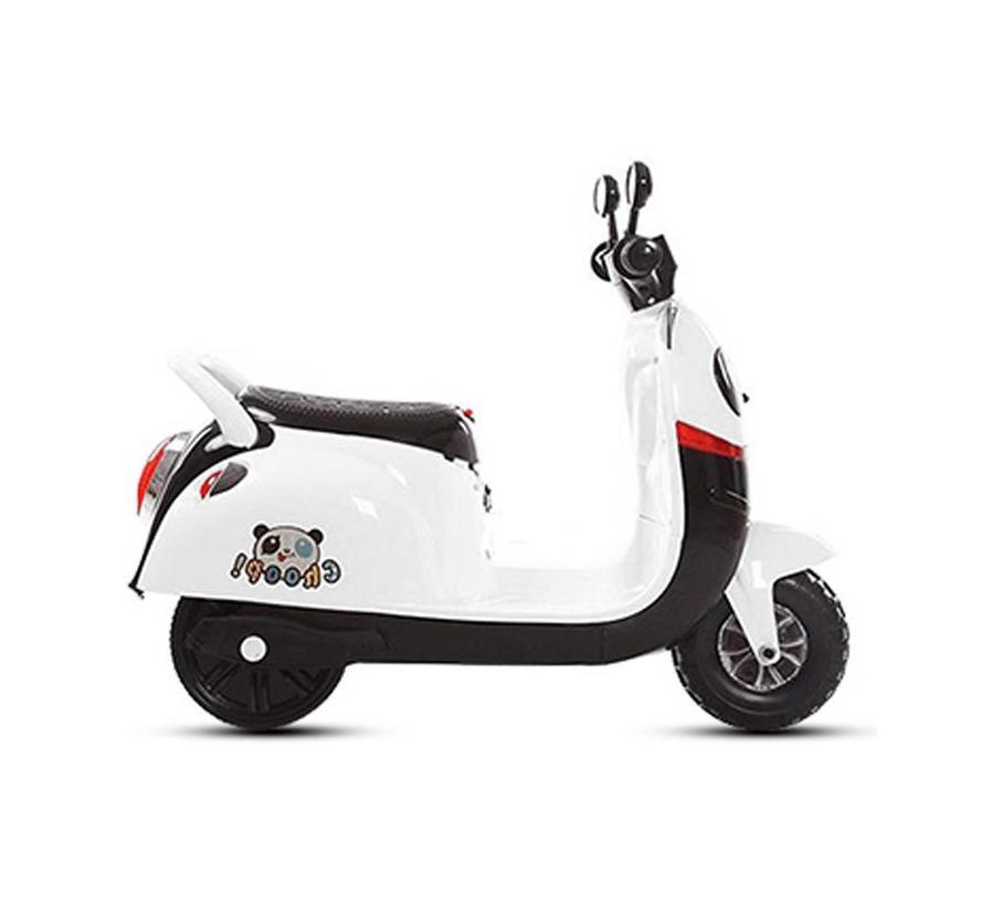 Elektrische Panda kinderscooter met Mp3!
