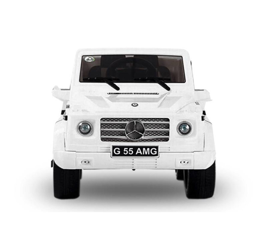 Mercedes G55 AMG elektrische kinderauto met mp3-aansluiting!