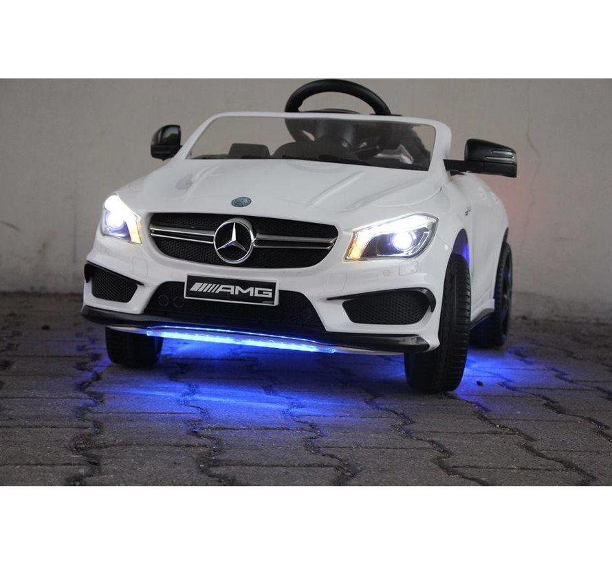 NIEUW! Unieke Mercedes CLA 45 AMG kinderauto!