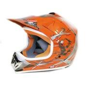 KIMO Xtreme Crosshelm - Oranje