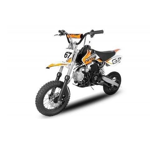 Nitro Motors Storm Dirtbike 110cc automaat met 12 inch banden