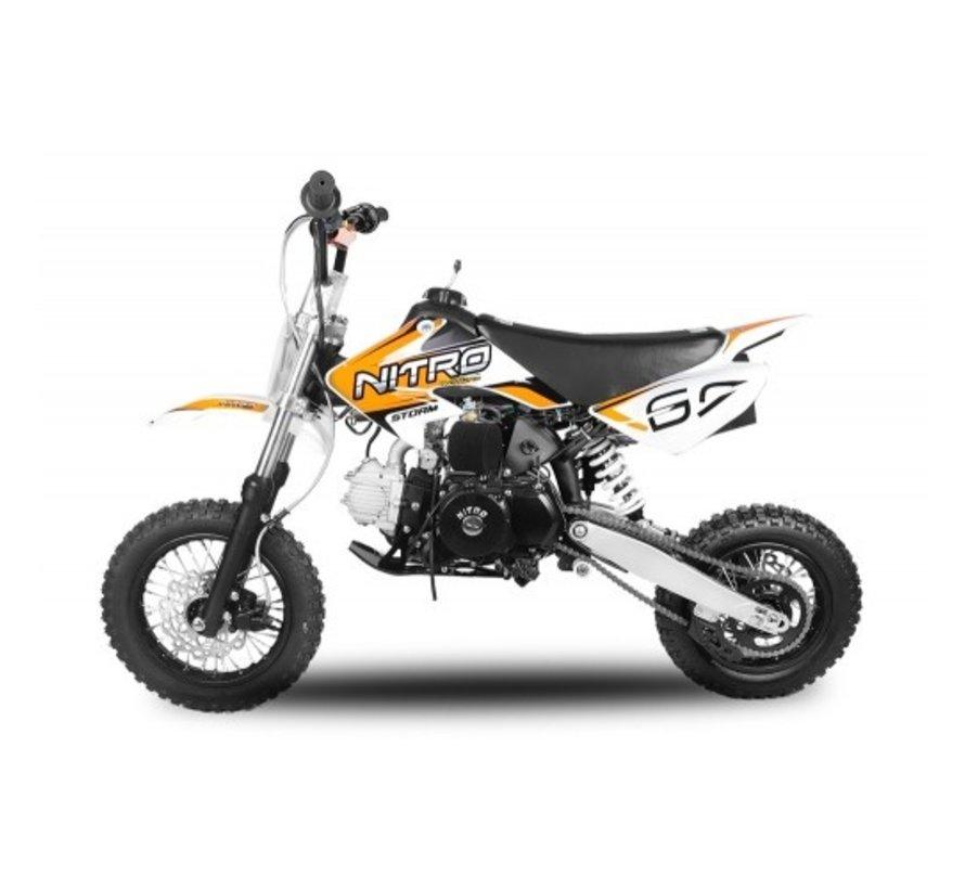 Storm Dirtbike 110cc automaat met 12 inch banden