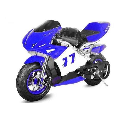 Nitro Motors Mini Pocketbike PS77 Racingbike 49cc