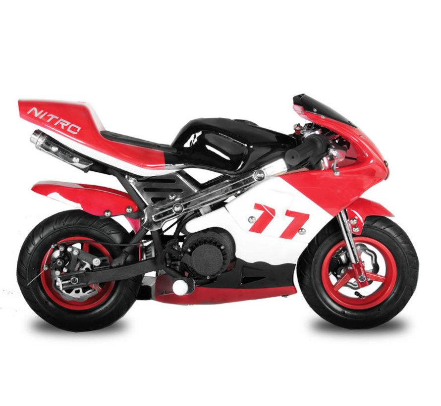 Mini Pocketbike PS77 Racingbike 49cc