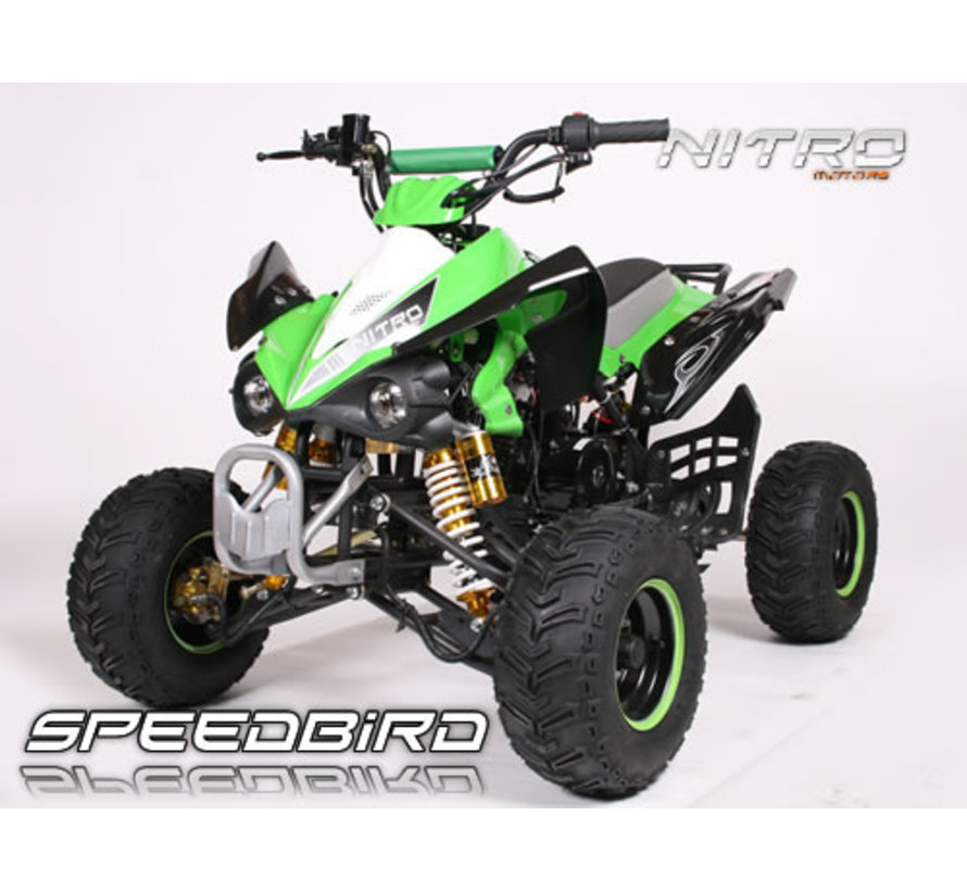 Nitro Motors - SpeedBird Quad 110cc met E-start