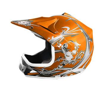 KIMO Xtreme Crosshelm - MAT Oranje
