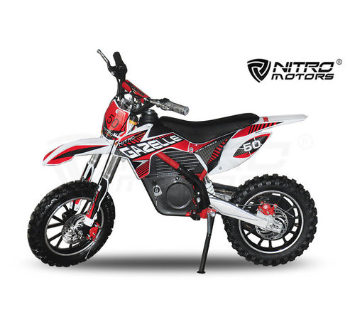 Nitro Motors Elektrische Gazelle crossbike 500W