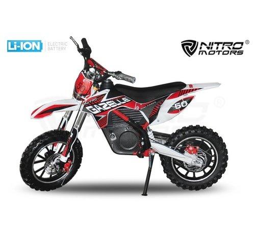 Nitro Motors Elektrische crossmotor voor kinderen