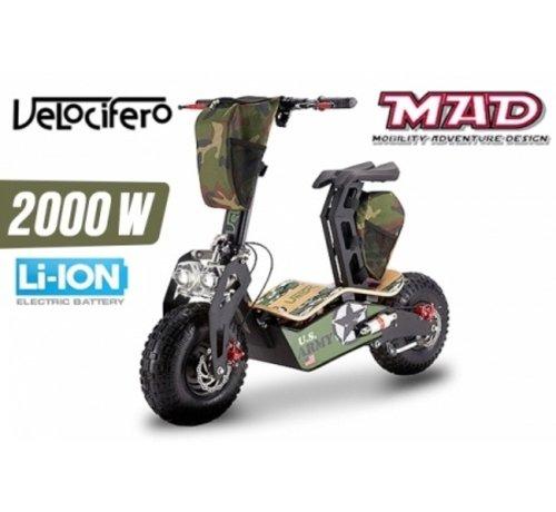 Velocifero Velocifero MAD elektrische step / scooter 2000W