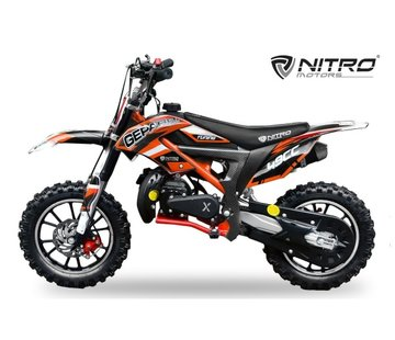 Nitro Motors Gepard Deluxe Dirtbike Tuning | Automaat | 49cc
