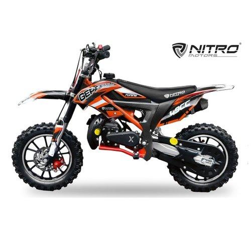 Nitro Motors Gepard Crossbike met Tuning carburateur en koppeling
