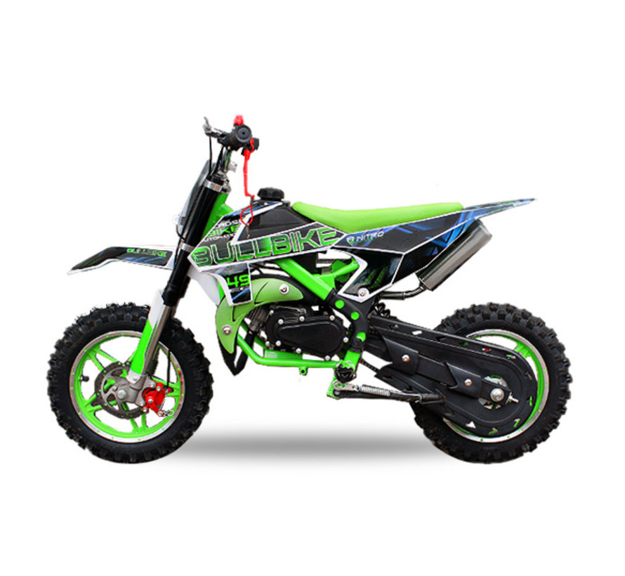 Nitro Motors - Bullbike Crossmotor voor kinderen 49cc