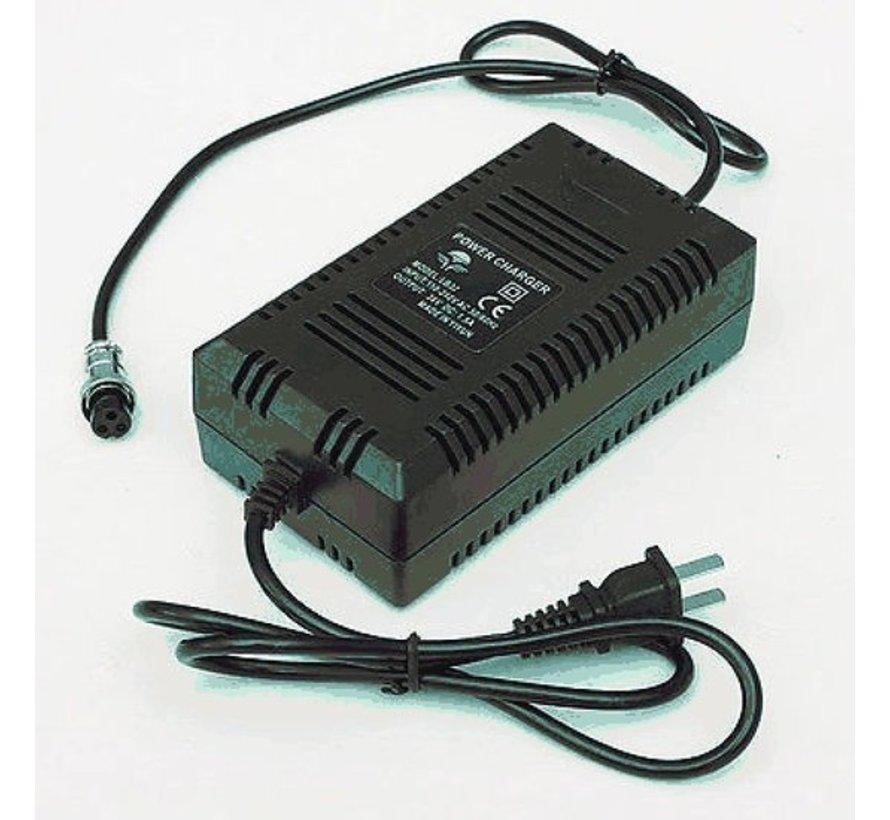 Oplader / adapter voor elektrische kinderquads 36V 48V