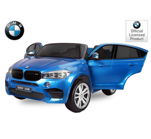 BMW BMW X6M Elektrische kinderauto 2-persoons