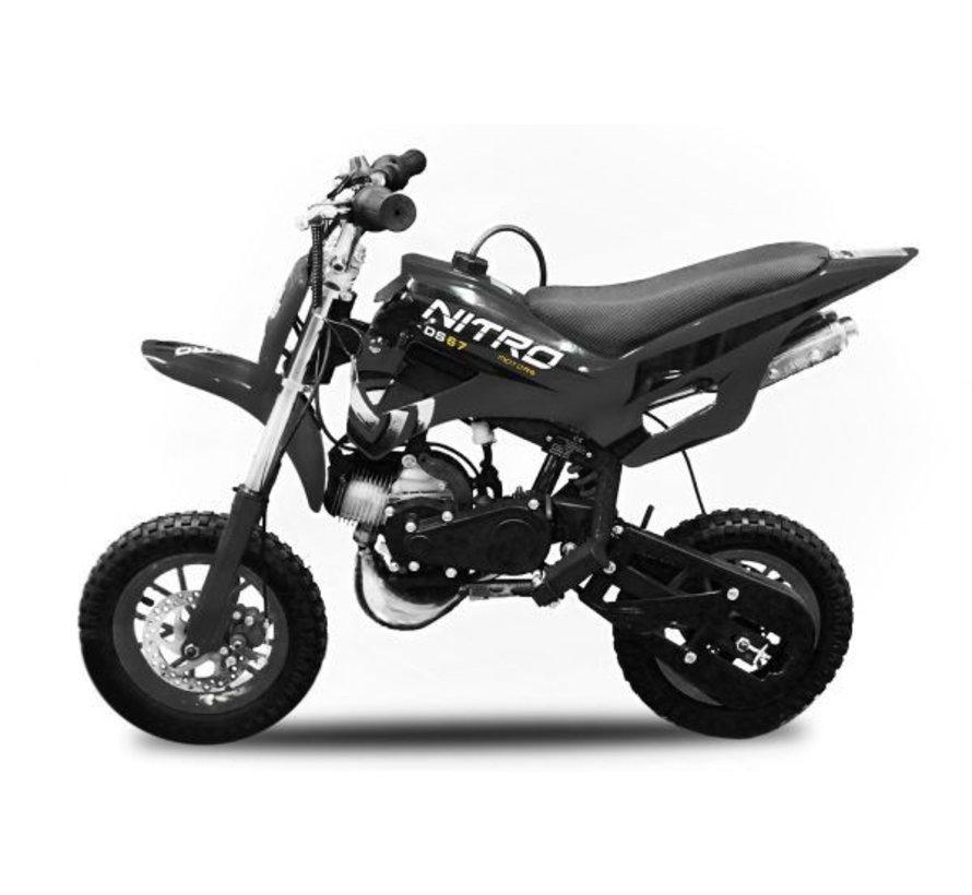 DS67 Sport Crossbike | Automaat | 49cc | Gratis verzending!