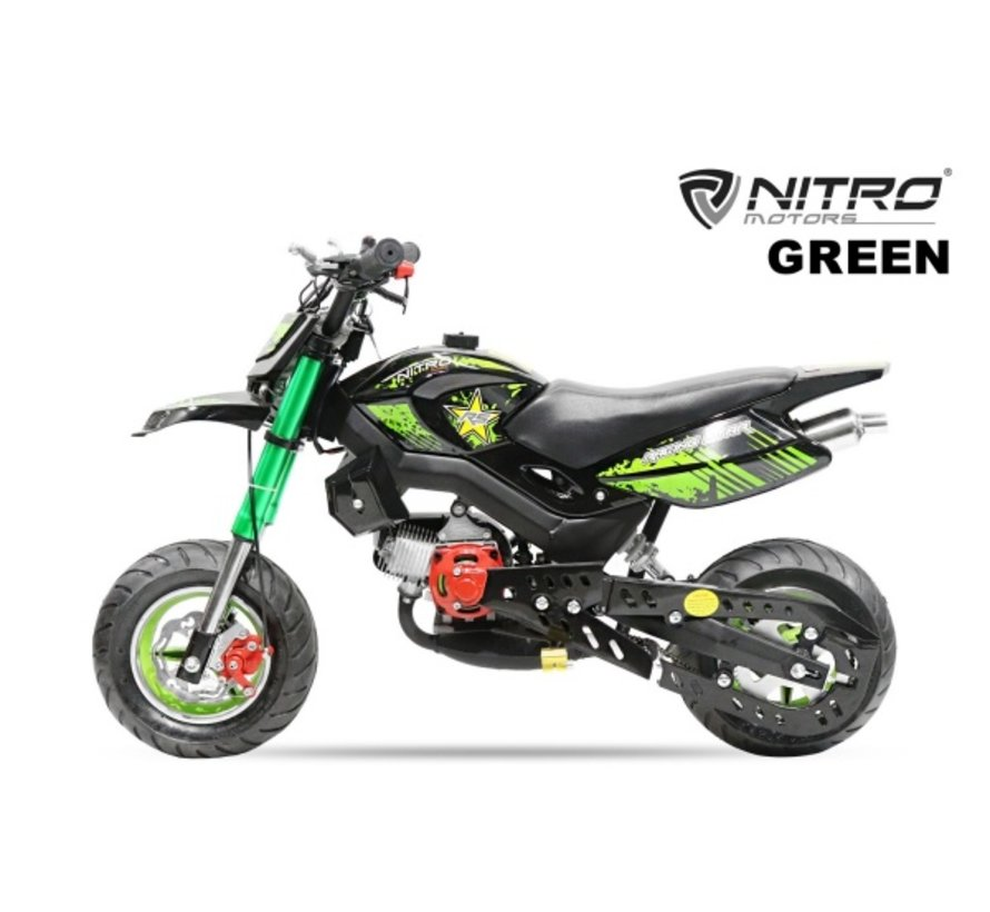 Nitro Motors - Hobbit Crossbike 49cc