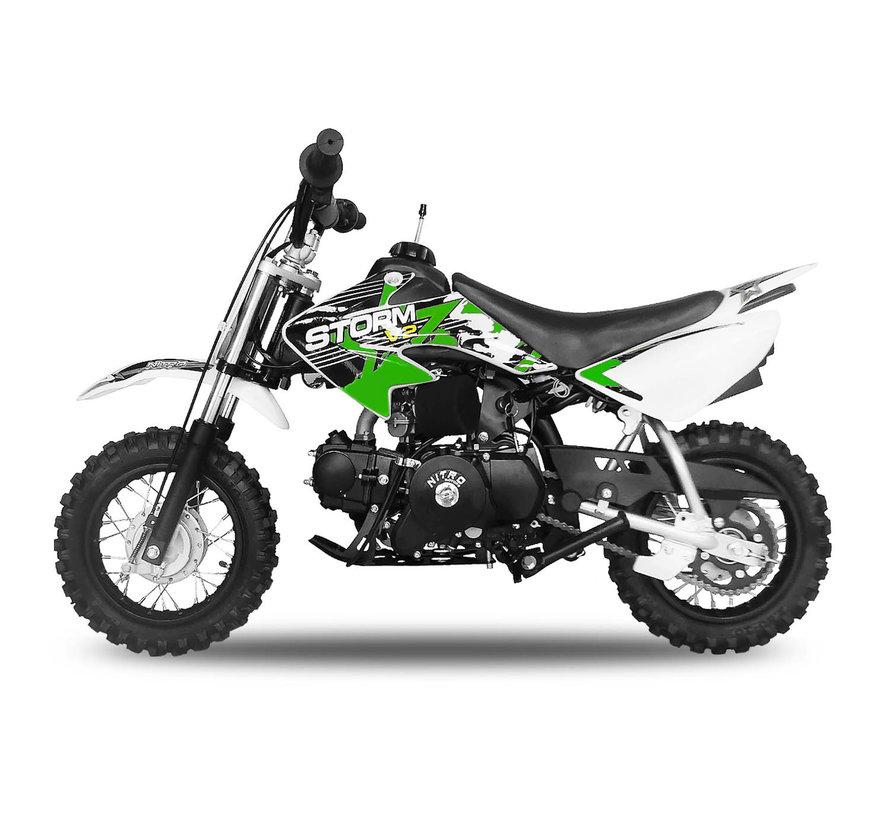 Storm Dirtbike 90cc automaat met elektrische starter