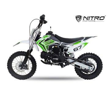 Nitro Motors Storm Dirtbike | Schakel | 110cc