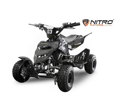 Nitro Motors REPTI Miniquad met 4 inch banden