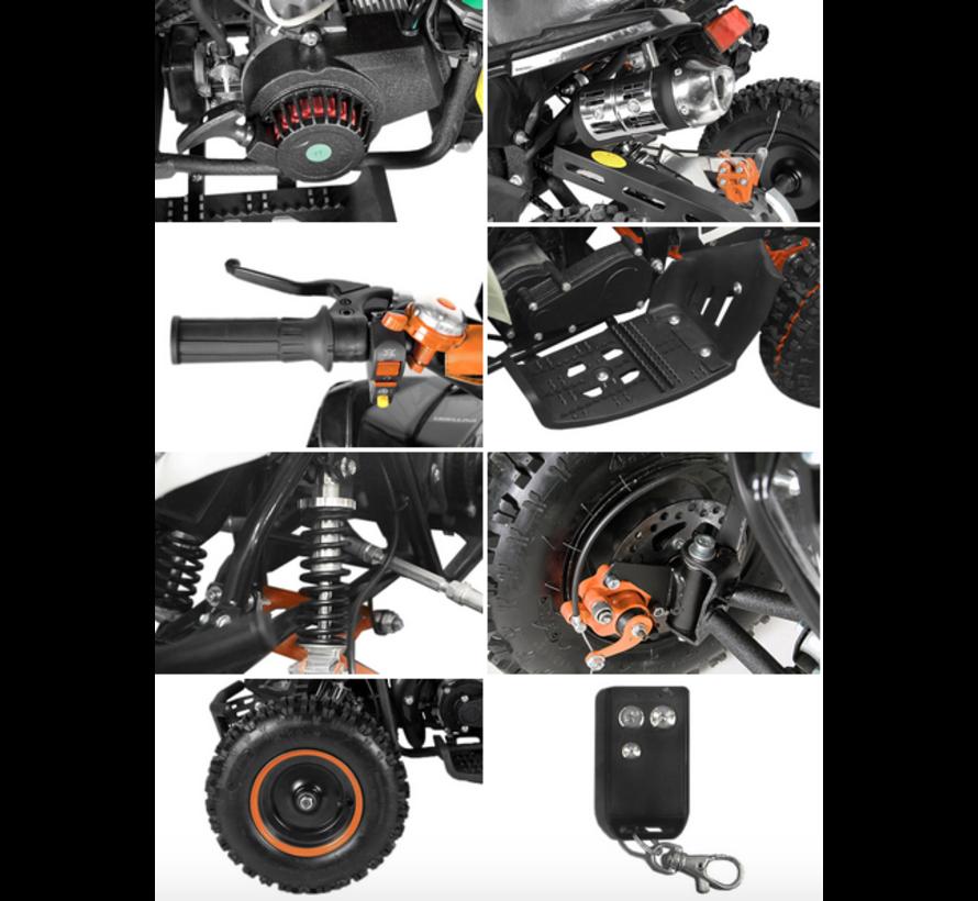 Jumpy Deluxe kinderquad - 6 inch - Elektrische starter