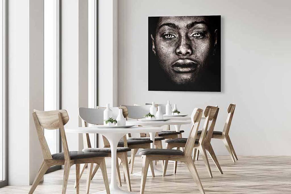 Afro woman tears-4