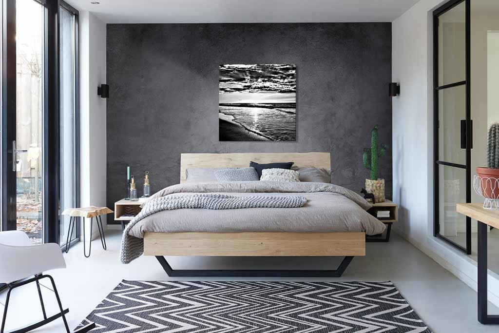Sea black and white-3