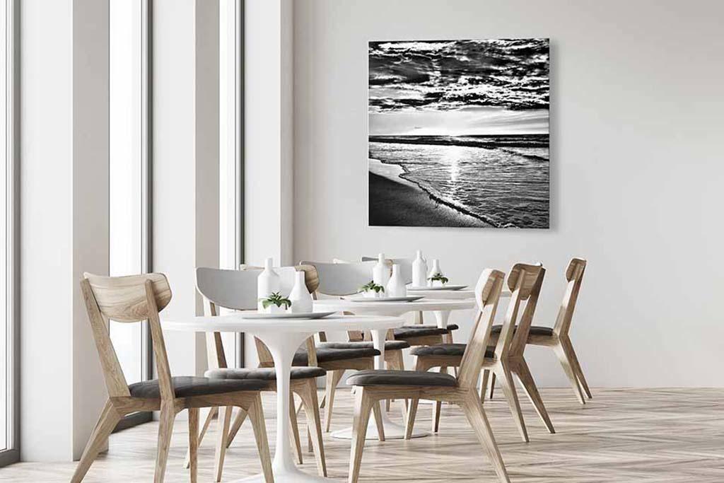 Sea black and white-4