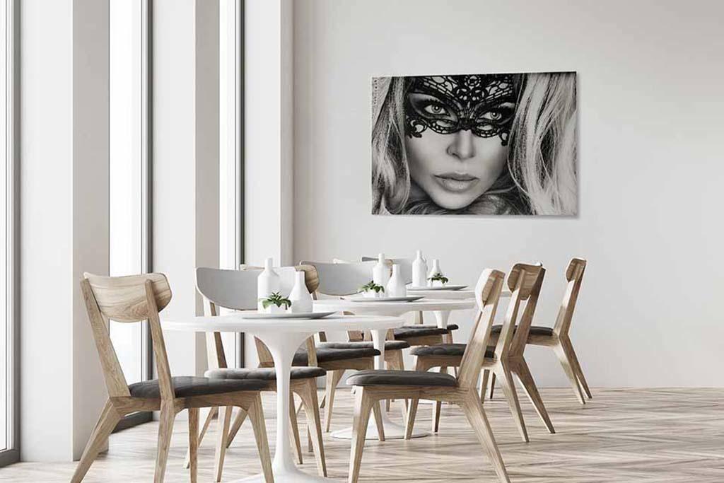 Masked blond woman-4