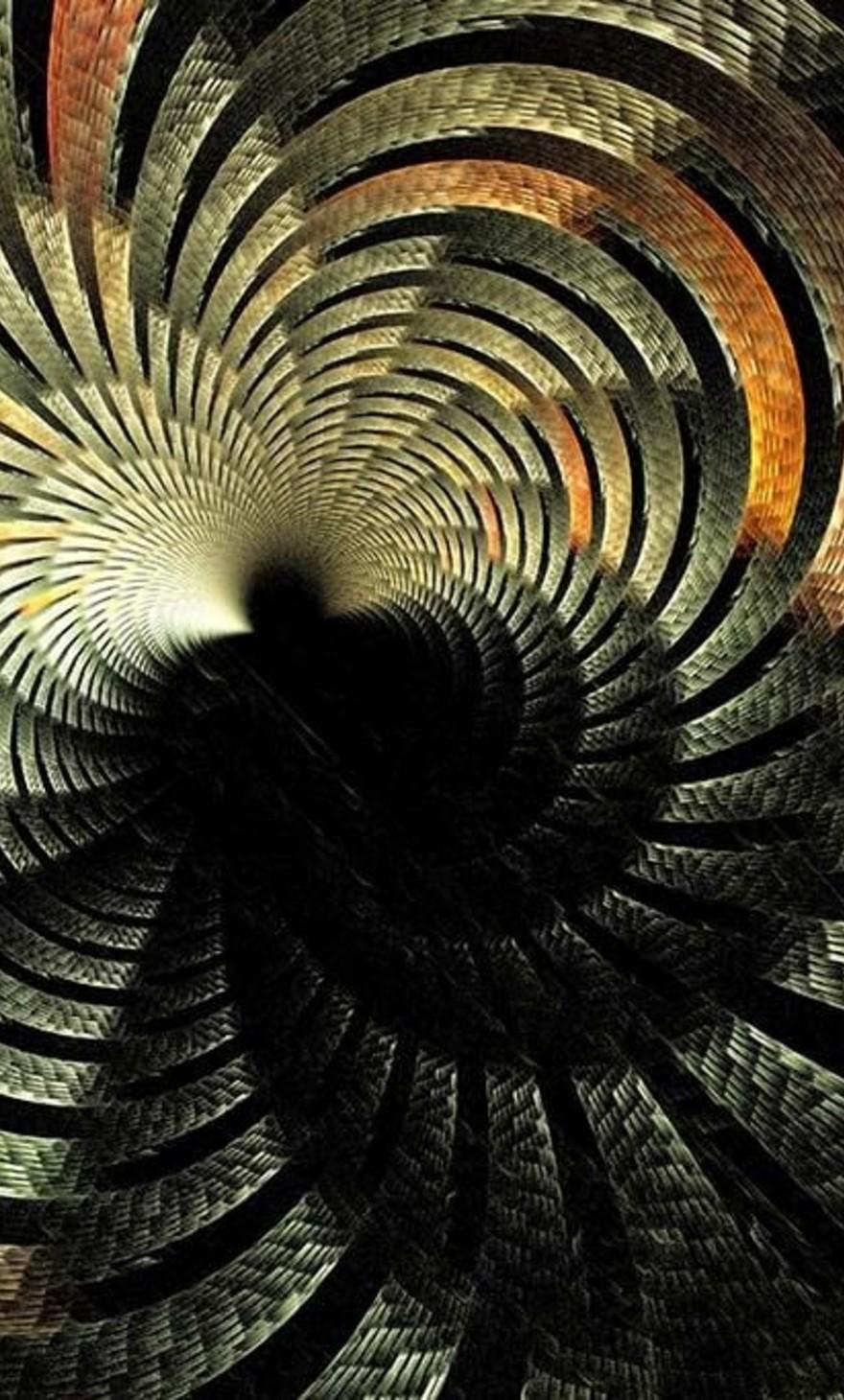 Spirale abstraite