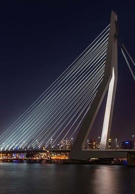 Le pont Erasmus de Rotterdam