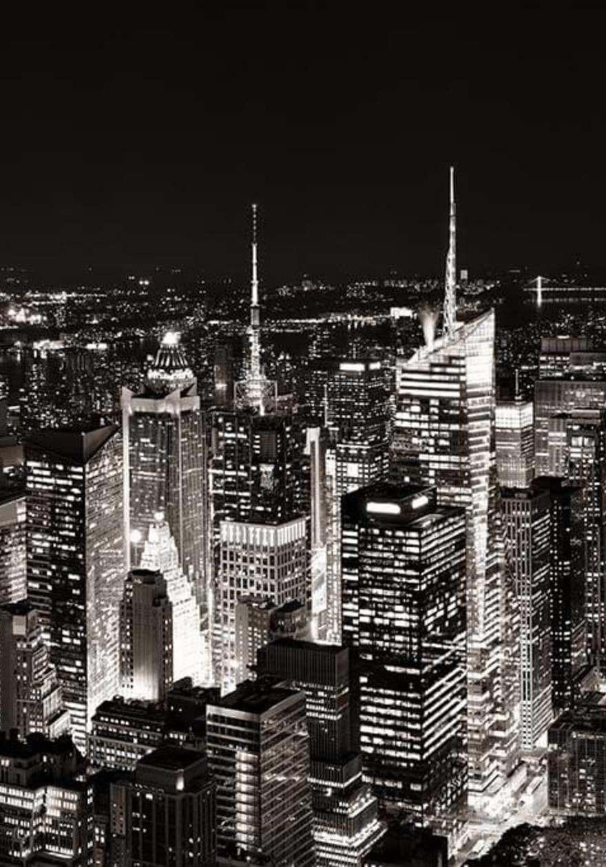 Manhattan Rooftop View