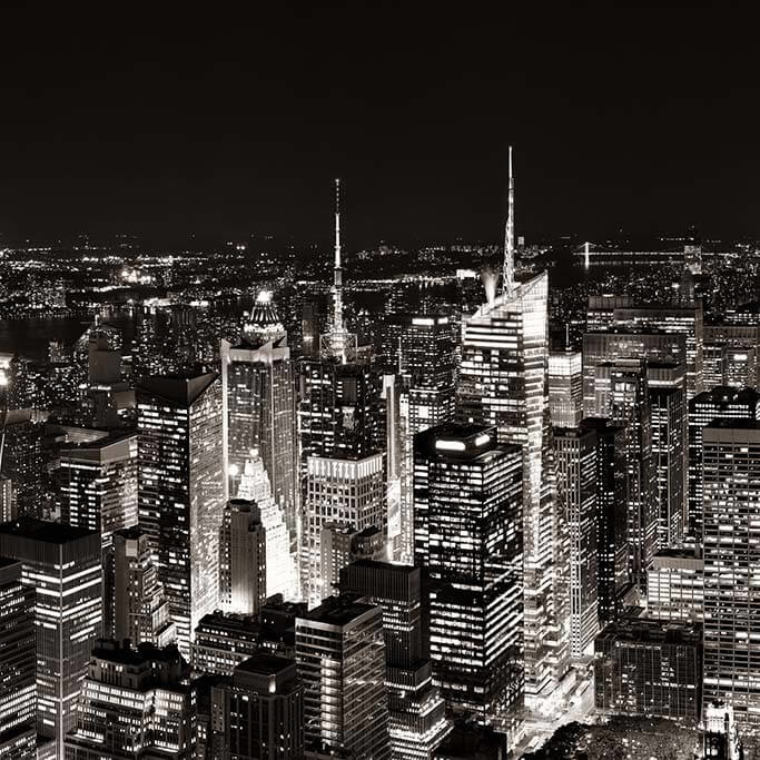 Manhattan Rooftop View-1
