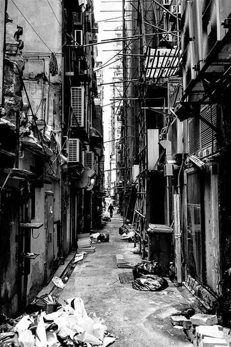 La vie dans la rue