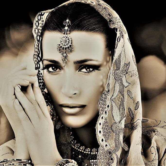 Hindu woman-1