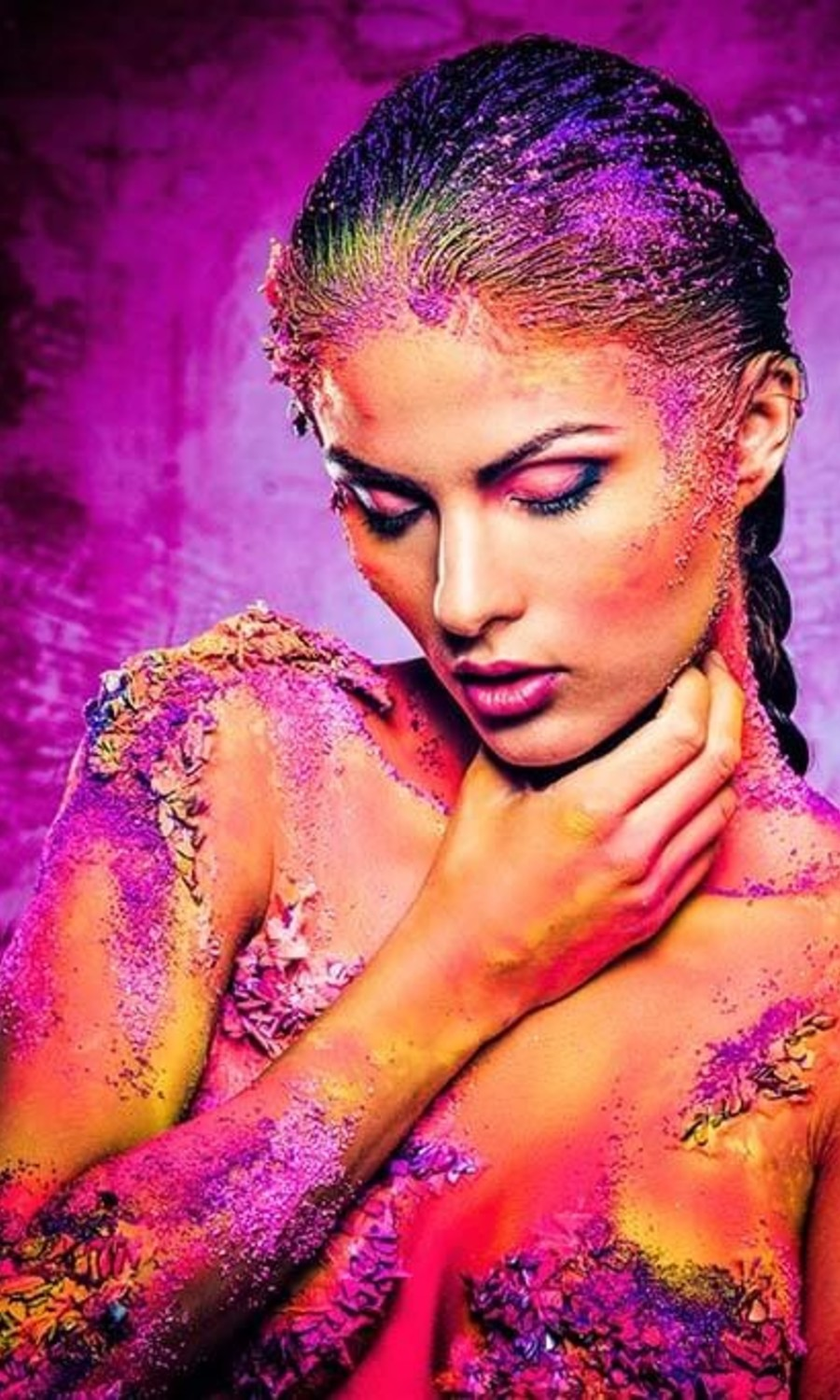 Painted woman great