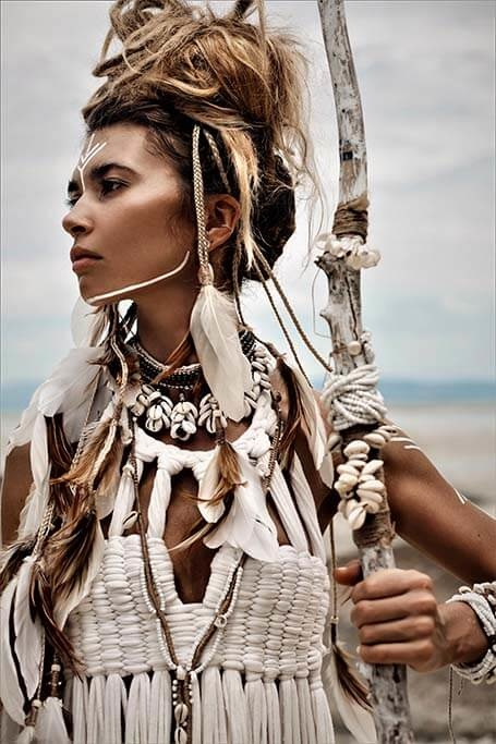 Beautiful American Indian