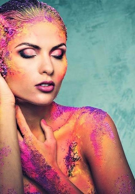 Colorfull Woman