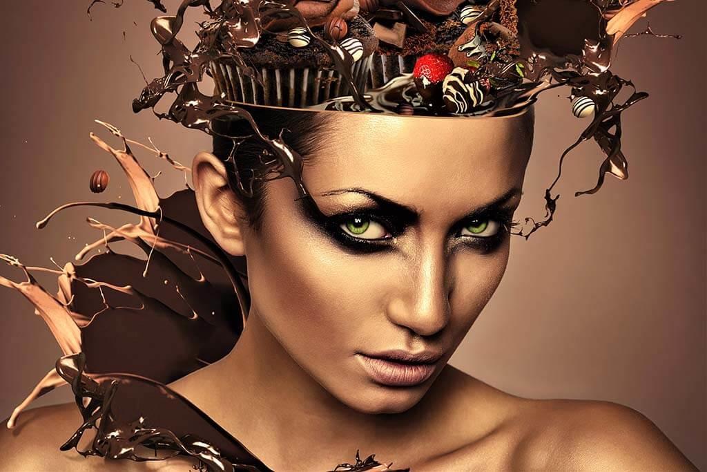 Chocolate Head Woman-1