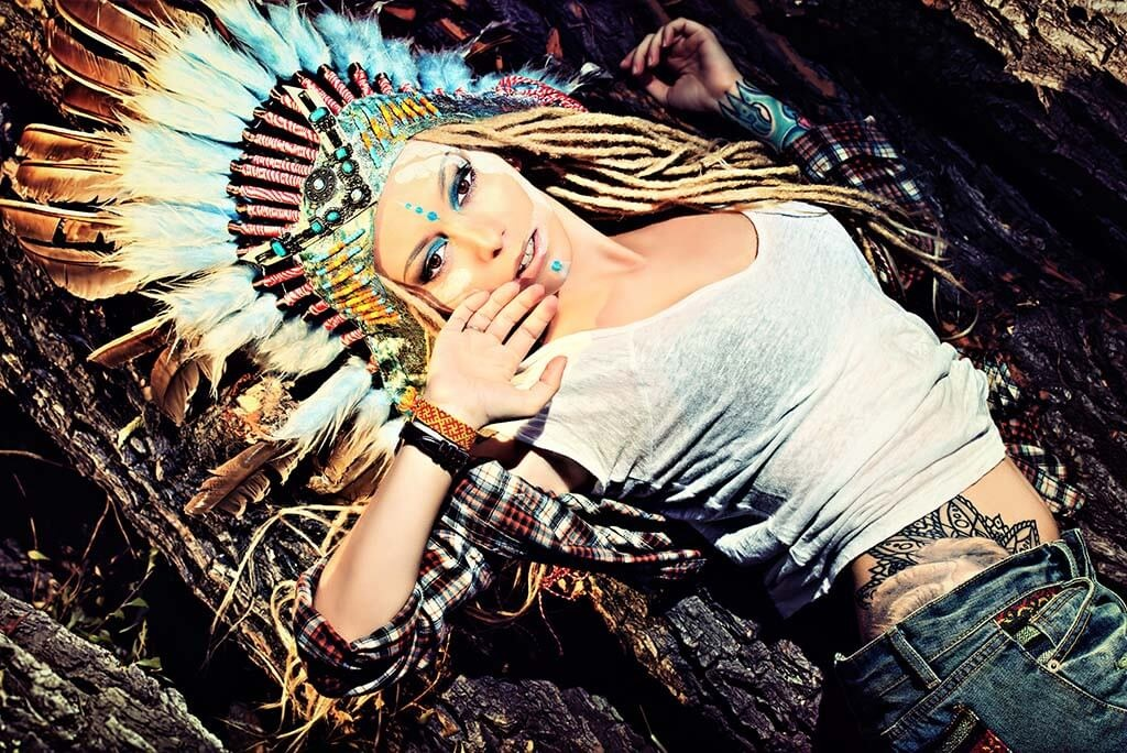 Sexy American Indian Girl-1