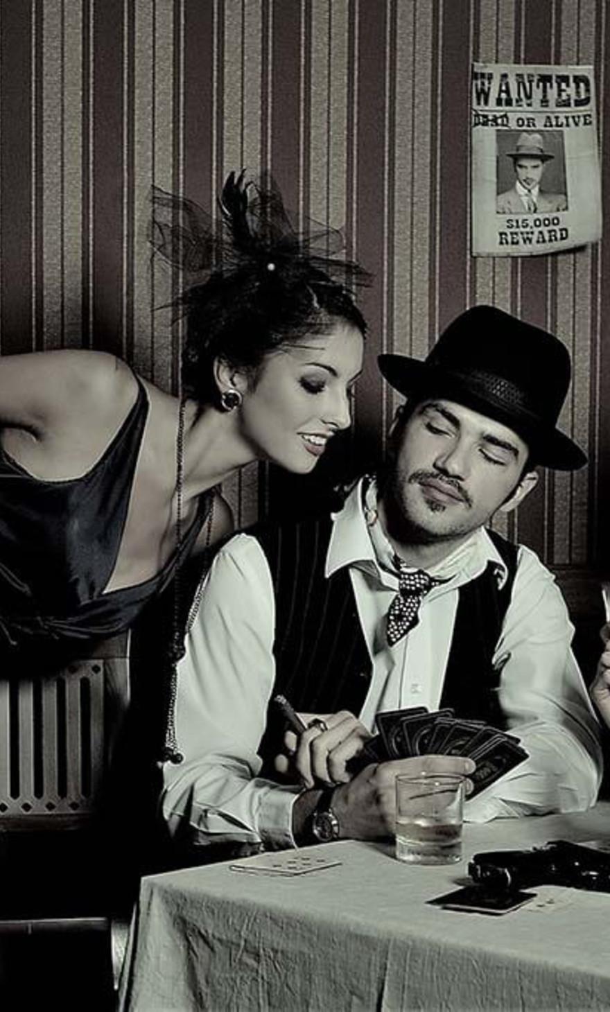 Mafia couple